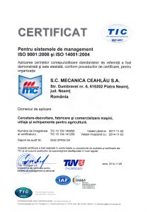 Certificat ISO_ro